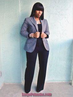 45 ideas atractivas para ropa de trabajo para mujeres de talla grande