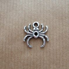 Tibetan Silver Spider Charms (pack of 10)