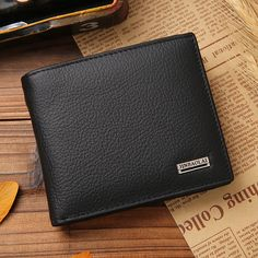 Hot Sales New Soft Leather Hasp Design Men's Wallets High Quality Wallet Dollar Price Purse Wallet For Men