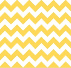 Medium Chevron Cotton - Yellow
