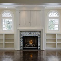 Salt Lake City Tv Above Fireplace Design Ideas, Pictures, Remodel and Decor