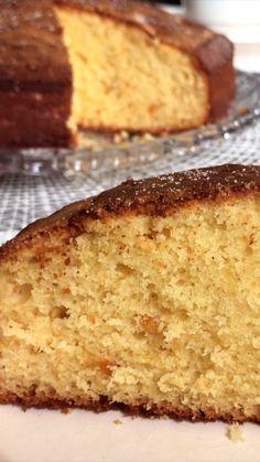 Un bizcochuelo esponjoso y saborizado con una Mermelada de Naranja! Una receta fácil e ideal para una rica merienda. Lemon Recipes, Easy Cake Recipes, Gourmet Recipes, Snack Recipes, Dessert Recipes, 1234 Cake, Lemon And Coconut Cake, Bon Dessert, Salty Cake