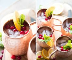 Cranberry Orange Moscow Mule Drink Recipe - Lemons for Lulu - Food and Recipe Blog