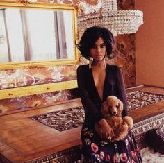 Kerry Washington for Vogue Italia
