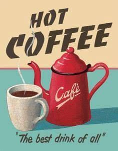 Where To Buy Retro Coffee Maker unlike Coffee Meets Bagel Kitchener I Love Coffee, My Coffee, Vintage Cafe, Retro Vintage, Vintage Labels, Vintage Posters, Etiquette Vintage, Coffee Poster, Coffee Signs