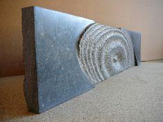 Opwelling 2008, Belgisch hardsteen (25x75x4) Verkocht.