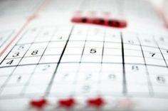 Sudoku brain training