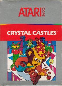 Crystal Castles Atari cartridge