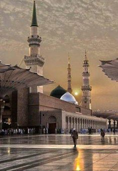 Islamic Images, Islamic Pictures, Islamic Art, Islamic Wallpaper Hd, Mecca Wallpaper, Al Masjid An Nabawi, Masjid Al Haram, Beautiful Mosques, Beautiful Places