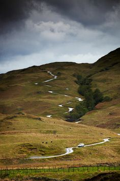UK, England, Cumbria, Great Britain, Lake District, Hardknott Pass, England's Steepest Road, Between Eskdale And The Duddon Valley - eStock