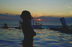My sunset from Kutabex BeachFront Hotel,