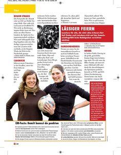 Titelgeschichte zur EM 2012, erschienen in PRINZ Düsseldorf 06/2012, Seite 6/9