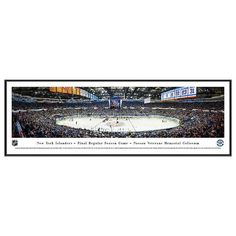 New York Islanders Hockey Arena Final Game Framed Wall Art, Multicolor