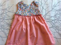 Robe trapèze pour fillette, couleur et tissu Liberty au choix : Mode filles par maud-et-carla-vetements-sur-mesure