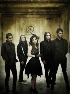 Flyleaf<3 So sad Lacey left the band. I never got to see them live :(