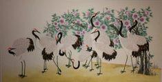 제6회 대한민국 전통채색화 공모대전 입상작과 특별 초대작가전 : 네이버 블로그 Rooster, Painting, Animals, Home Decor, Blog, Animales, Decoration Home, Animaux, Room Decor