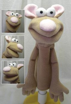 Melvin Mouse - Hand Puppet (moving mouth)