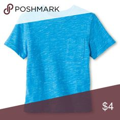 Toddler Boys' Activewear T-Shirt- Heather Blue Toddler Boys' Activewear T-Shirt- Heather Blue- Cherokee  85% Cotton 15% Polyester Cherokee Shirts & Tops Tees - Short Sleeve