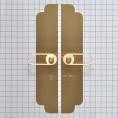 Modern Door Hardware with a Twist - Design Milk Door Pulls, Door Handles, Door Design, House Design, Door Detail, Furniture Handles, Modern Door, Plaque, Candle Sconces