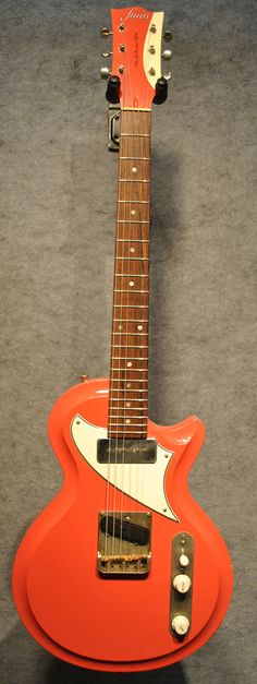 Fano Alt De Facto SP6 German Carve Guitar in Res-O-Salmon with Case $2,673.00
