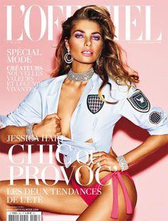 7f988868bfaaf Jessica Hart Covers L Officiel Paris March 2014   FashionMention French  Magazine, Victoria Secrets
