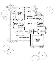 ADD 1 MORE RM & PWDR ROOM- Grace of Victorian Accents (HWBDO00422) | Queen Anne House Plan from BuilderHousePlans.com