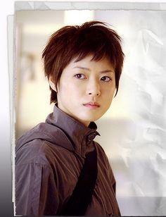 Juri Ueno as the boyish Ruka from Last Friends.