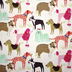 Dogs, Best in Show Fabric | The Makery
