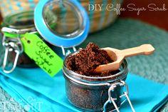 DIY Coffee Sugar Scrub