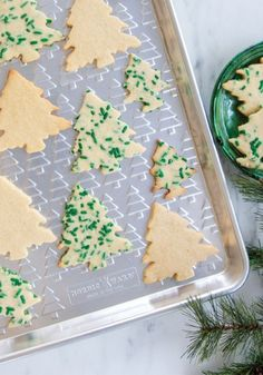 This festive tree embossed baking sheet is perfect for all your holiday cookie baking projects. Great as a serving tray too! Half Sheet Pan, Steel Rims, Silicone Baking Mat, Nordic Ware, Tree Patterns, Baking Sheet, Holiday Cookies, Emboss, Wonderful Time