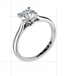 Cartier 1895 Solitaire.   Graceful, sleek, and the standard by which all solitaires should be judged.