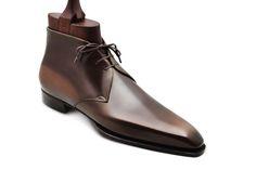 #Aubercy - #Boots - Grande Mesure - Bespoke - Sur commande - Made to order - Galuchat - #Dapper - #Men - #Shoes ---