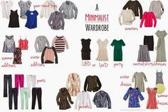 Best of 2013 At House For Five - paring down to a 30 piece minimalist wardrobe. Full of tips and a free shopping checklist.