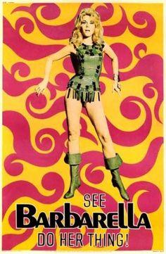 Barbarella - 1968 - Film de Roger Vadim avec Jane Fonda d'après la B.D. de Jean-Claude Forest