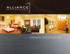 16-page brochure showing many of the doors, options and GLAZING INSERTS available for French Doors in *Alberta* (Through Alliance Door Products in Edmonton & Calgary). Check the Alliance Door website for information on where to view/download online. #FrenchDOOR