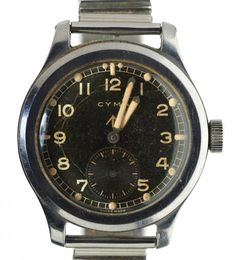 Mellors & Kirk is one of the leading regional Fine Art Auctioneers, and has over 20 years' experience holding regular auctions of antiques & fine art. Military Issue, Omega Watch, Arrow, British, Stainless Steel, Watches, Antiques, Accessories, Antiquities
