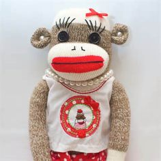 Products Page — Funky Monkey - Traditional Handcrafted Sock Monkeys