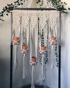 macrame plant hanger+macrame+macrame wall hanging+macrame patterns+macrame projects+macrame diy+macrame knots+macrame plant hanger diy+TWOME I Macrame & Natural Dyer Maker & Educator+MangoAndMore macrame studio Macrame Plant Hanger Patterns, Macrame Wall Hanger, Macrame Patterns, Macrame Design, Macrame Art, Macrame Projects, Wall Plant Hanger, Macrame Tutorial, Decoration