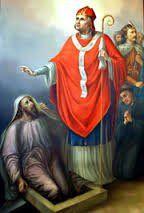 El amor conquista todas las cosas; démosle paso al amor. San Estanislao d Cracovia ruega pr nos. Amén