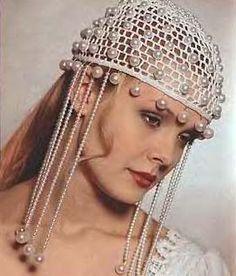 Uncinetto d'oro: Cappello da sposa!!!