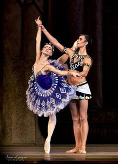 Artem Ovcharenko and Natalia Osipova in the Pharaoh's Daughter.