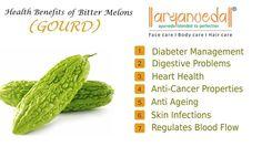 Health #Benefits of #Bitter_melons_(Gourd).