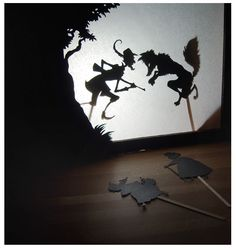 Shadow theater from old cardboard packaging - upcycle ME Craft Projects For Kids, Crafts For Kids To Make, Kids Crafts, Craft Ideas, Shadow Play, Shadow Box, Shadow Theatre, Paper Art, Paper Crafts