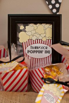 Movie Party Gift Bags