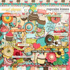 Sweet Shoppe Designs is a full service digital scrapbooking site which offers high quality digital scrapbook products from the industry's top designers. Illustration Art, Art Illustrations, Love Eat, Baking Cupcakes, Sweet Life, Digital Scrapbooking, Sprinkles, Clip Art, Scrapbook Kit
