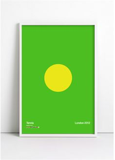 Tennis - Limited Edition Poster