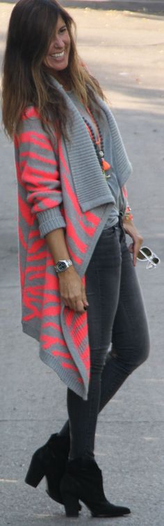 #Cozy #Jacket For #Fall From #Vila by Mytenida