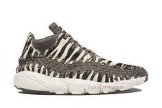 nike air footscape woven motion zebra 2 570x380 Nike Air Footscape Woven Chukka   Zebra