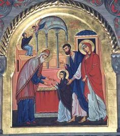 The #OrthodoxChurch celebrates the Entry of the Most Holy #Theotokos into the Temple today on December