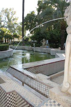 Sevilla. Parque de Maria Luisa.